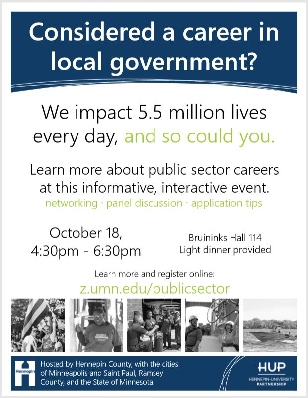 Public Sector Informational Event